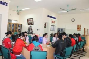 Văn phòng Trung tâm Ngoại ngữ CFL