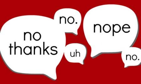 25 cách nói 'Không' trong tiếng Anh